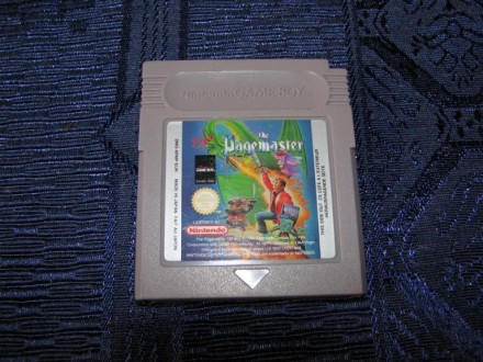 GAME - GAME BOY  THE PAGEMASTER