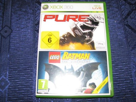 GAME - XBOX 360 BATMAN LEGO, PURE