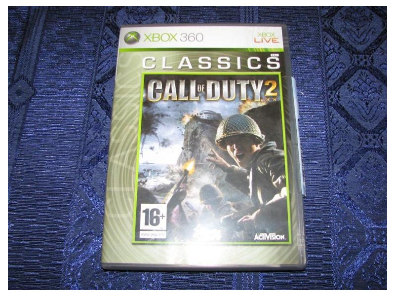 GAME - XBOX 360  CALL OF DUTY 2