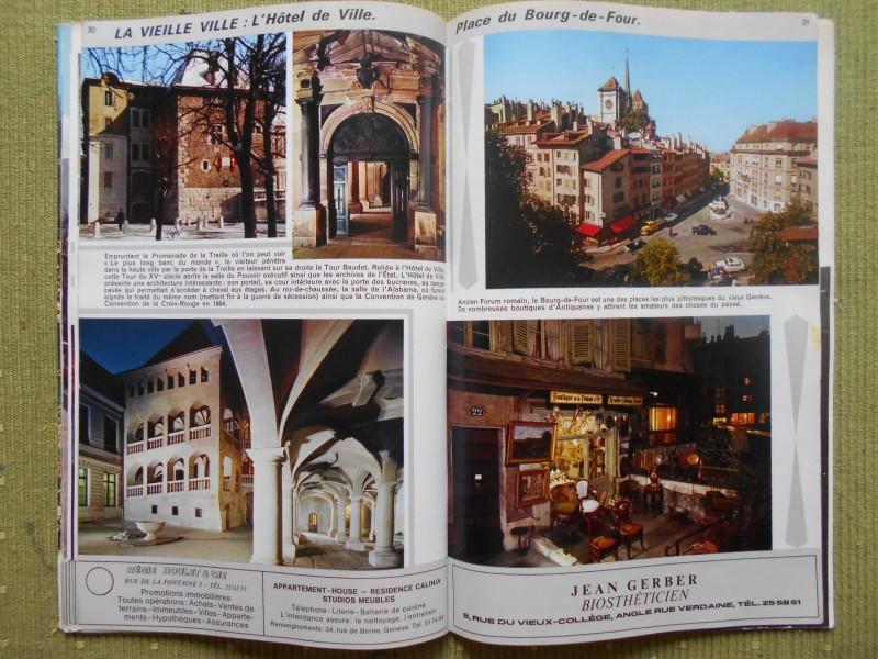 GENEVE guide illustre ... 70 Photos en couleurs