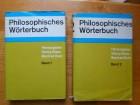 GEORG KLAUS MANFED BUHR-PHILOSOPHISCHES WORTERBUCH 1-2