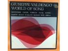 GIUSEPPE VALDENGO WORLD OF SONG, LP