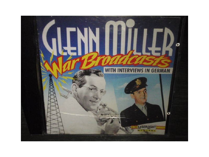 GLENN MILLER-War Broadcasts With Interviews In German