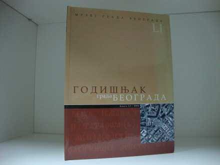 GODIŠNJAK GRADA BEOGRADA  L I / 2004