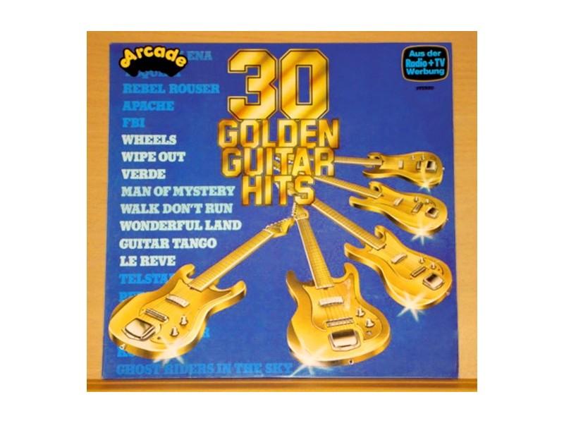 GOLDEN GUITAR HITS - 30 Original Instrumentals