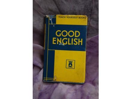 GOOD ENGLISH
