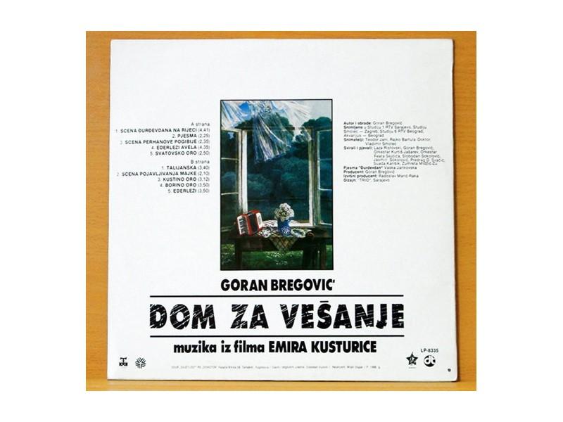 GORAN BREGOVIĆ - Dom za vešanje