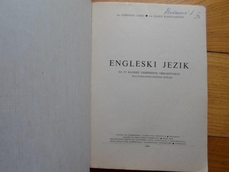 GORDANA GRBA I DR. - ENGLESKI JEZIK ZA 4 RAZ. USMER.OBR