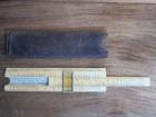 GUDEON 223 - stari logaritamski lenjir u kožnoj futroli