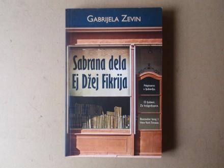 Gabrijela Zevin - SABRANA DELA EJ DŽEJ FIKRIJA