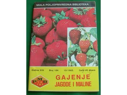 Gajenje jagode i maline - Dr. M. Pantelić