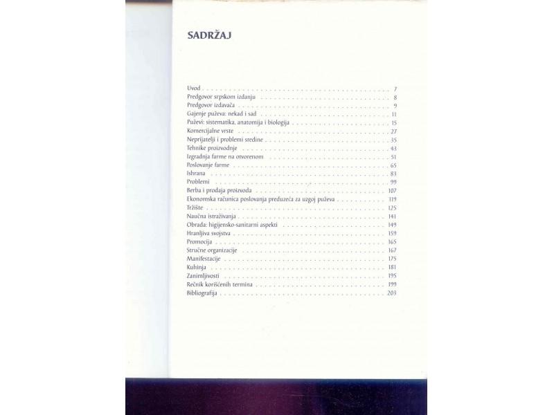 Gajenje puževa Đovani Avanjina