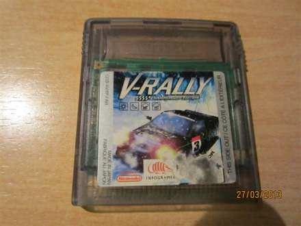 GameBoy kertridž - V-Rally