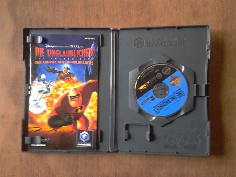 GameCube igra The Incredibles ORIGINAL