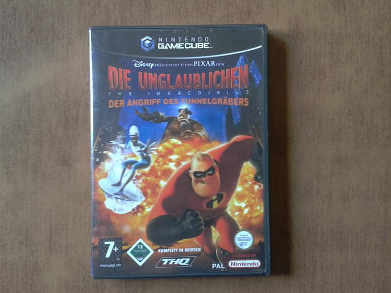 GameCube igra The Incredibles ORIGINAL