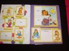 Garfield,Panini album sa slicicama,ostecen