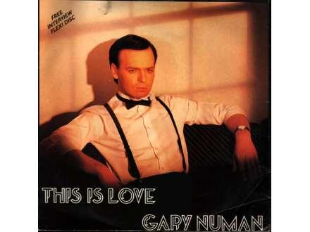 Gary Numan - This Is Love /singl+flexi disc/