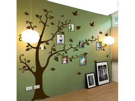Geco-art dekorativna nalepnica  FAMILY TREE