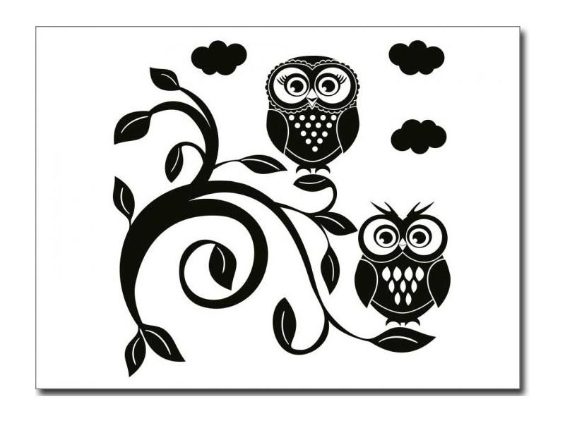 Geco-art dekorativna nalepnica Sove II