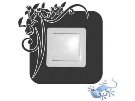 Geco-art dekorativna nalepnica za utičnicu i prekidač 01