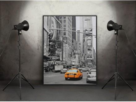 Geco art posteri - print na medijapanu NEW YORK I