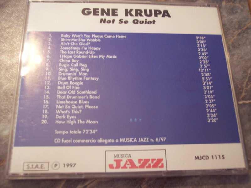 Gene Krupa - Not So Quiet