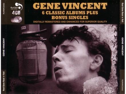 Gene Vincent - 6 Classics Albums plus Bonus Singles