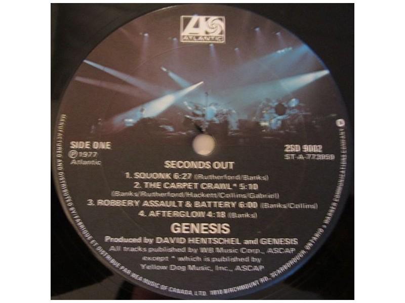 Genesis – Seconds Out 2LP