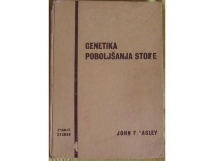 Genetika pobiljšanja stoke    John F. Lasley