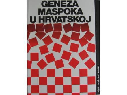 Geneza maspoka u Hrvatskoj  Kesar  Bilbija  Stefanović