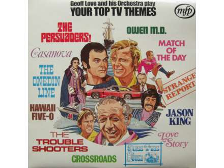 Geoff Love & His Orchestra - Your Top TV Themes