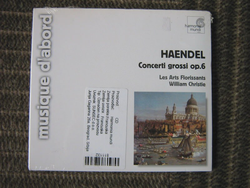Georg F. Haendel - Concerti Grossi Op.6
