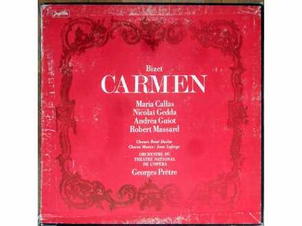 Georges Bizet, Maria Callas, Nicolai Gedda, Andréa Guiot, Robert Massard, Georges Prêtre, Choeur René Duclos, Jean Laforge, Orchestre National De L`Opéra De Paris - Carmen