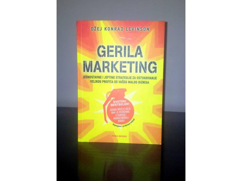 Gerila marketing, Džej Konrad Levinson, nova