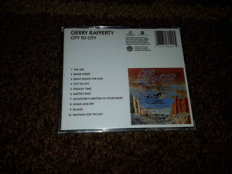 Gerry Rafferty - City to city , U CELOFANU