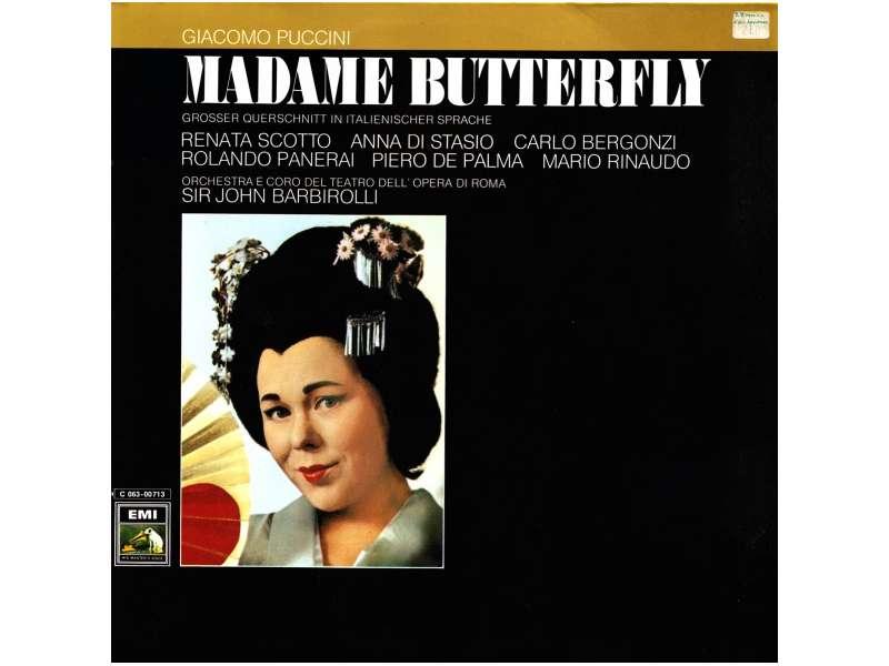Giacomo Puccini - Madame Butterfly (Grosser Querschnitt In Italienischer Sprache)