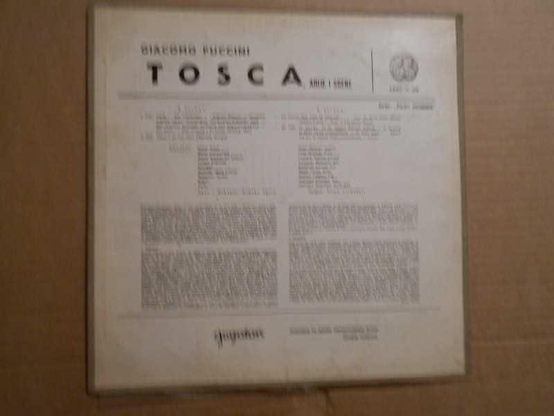 Giacomo Puccini, Orchestra Sinfonica Nazionale Della RAI - Tosca (Puccini)