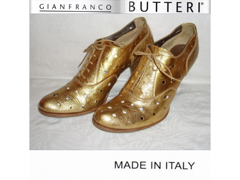 Gianfranco Butteri KOŽNE zlatne cipele
