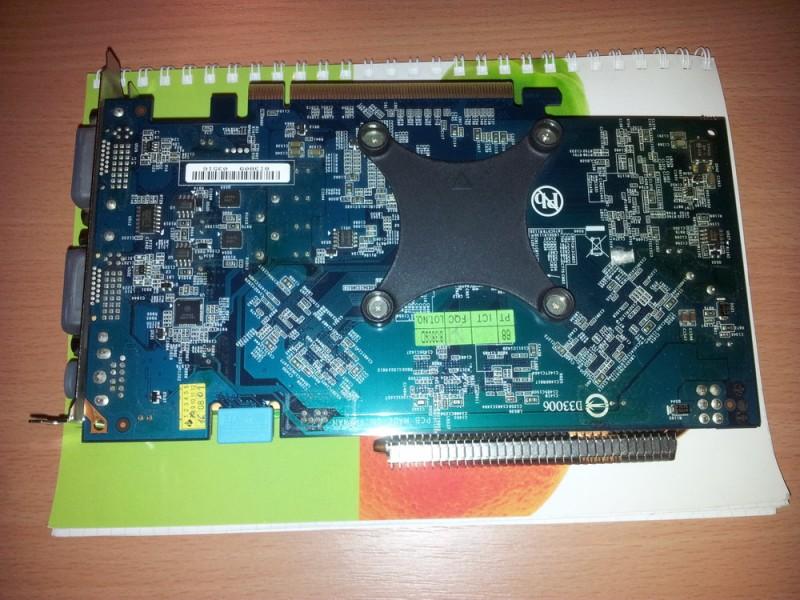 Gigabyte 9600GT silent 256bit PCI-e full