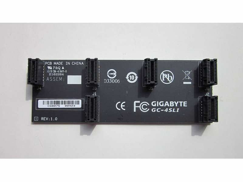 Gigabyte GC-4SLI 4 Way SLI Bridge