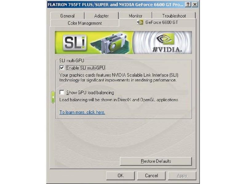 Gigabyte GC-SLISW-C19 SLI Selector modul za graficku