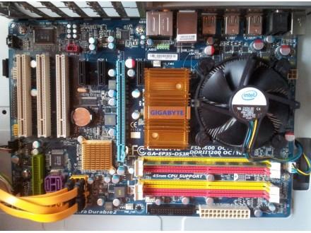 Gigabyte ploca i Intel core procesor 3.0GHz 6MB cache