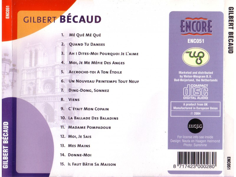 Gilbert Bécaud - Gilbert Becaud