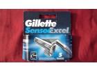 Gillette senzor excel 5 kom899 Din.-Super cena!!!