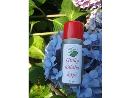 Ginko Biloba kapi 50 ml