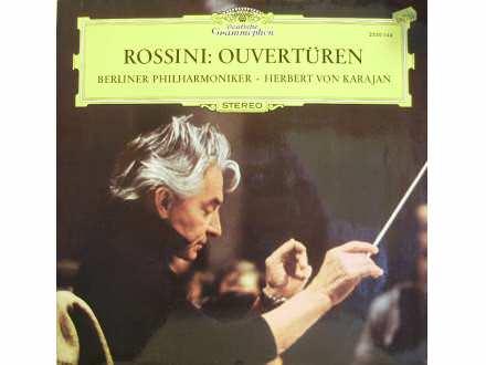 Gioacchino Rossini, Berliner Philharmoniker, Herbert Von Karajan - Ouvertüren