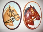 Gipsana slika za zid- Glava konja