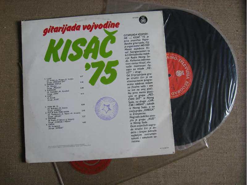 Gitarijada Vojvodine Kisač `75