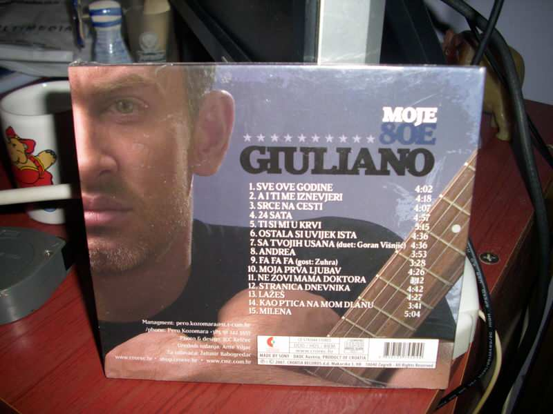 Giuliano - Moje 80e