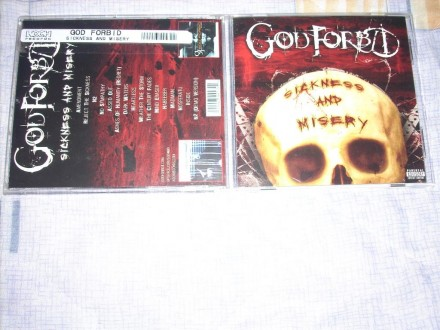 God Forbid - Sickness And Misery CD